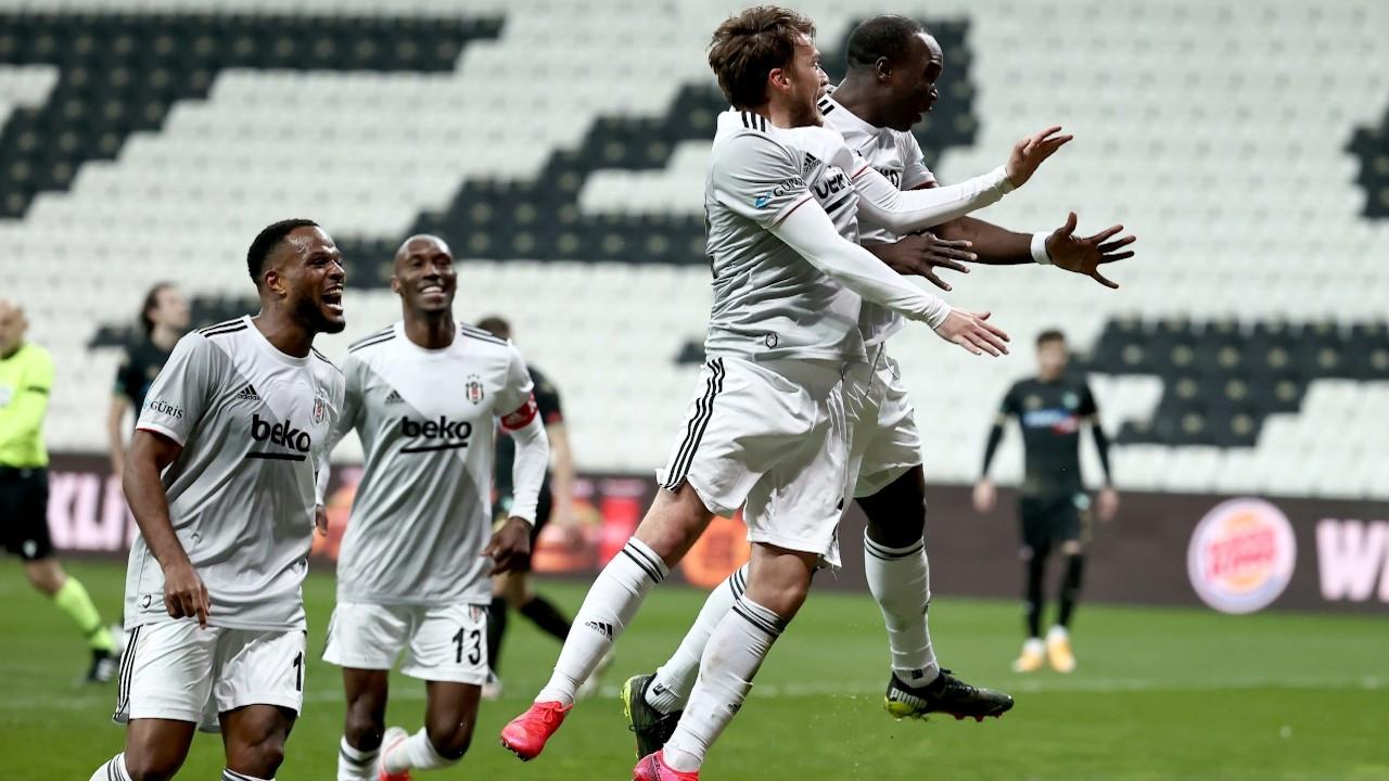 Beşiktaş, Denizlispor'u 3-0 mağlup etti