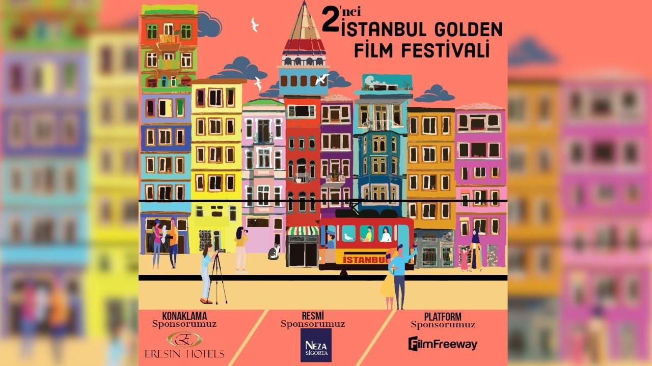 2. İstanbul Golden Film Festivali 18 Kasım'da başlayacak