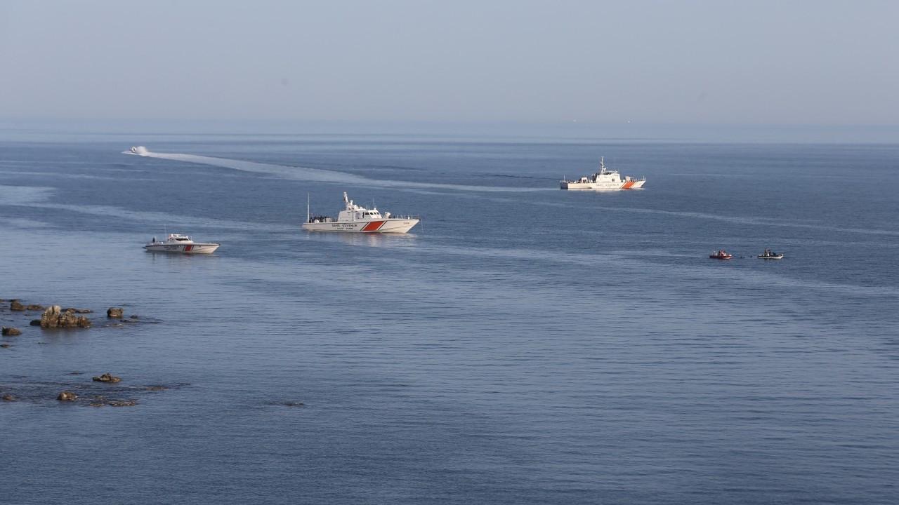 Gökçeada'da batan teknenin yeri tespit edildi