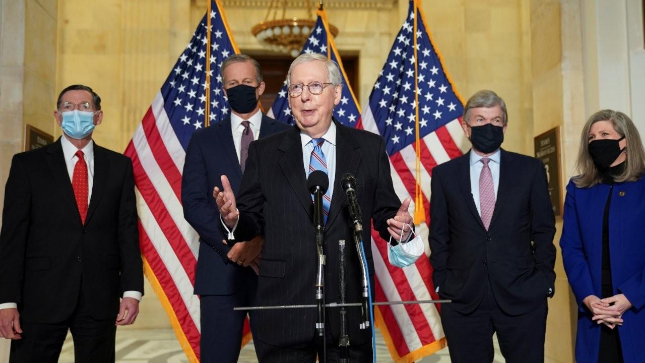 Senato'daki Cumhuriyetçilerin lideri McConnell'dan Trump'ın 2024 adaylığına destek