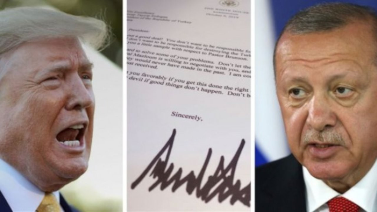 Trump'ın Erdoğan'a yolladığı mektubu paylaşmak 'örgüt propagandası' sayıldı