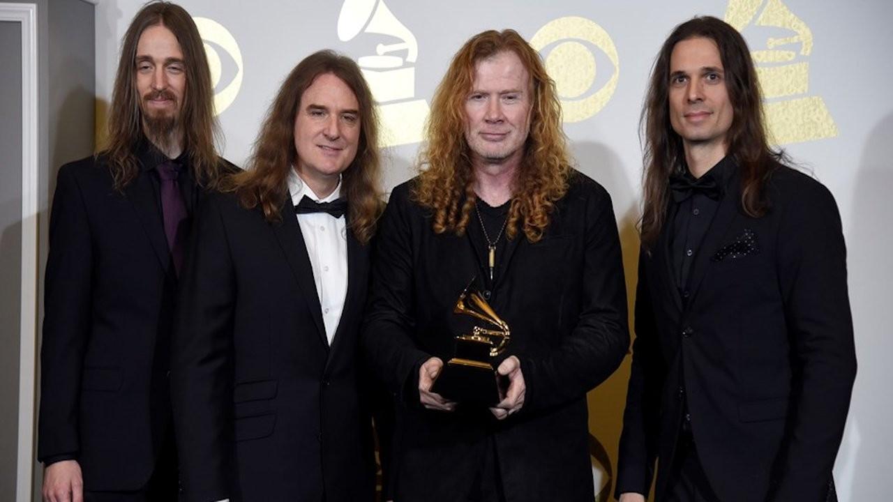 Megadeth'in yeni albümü yolda
