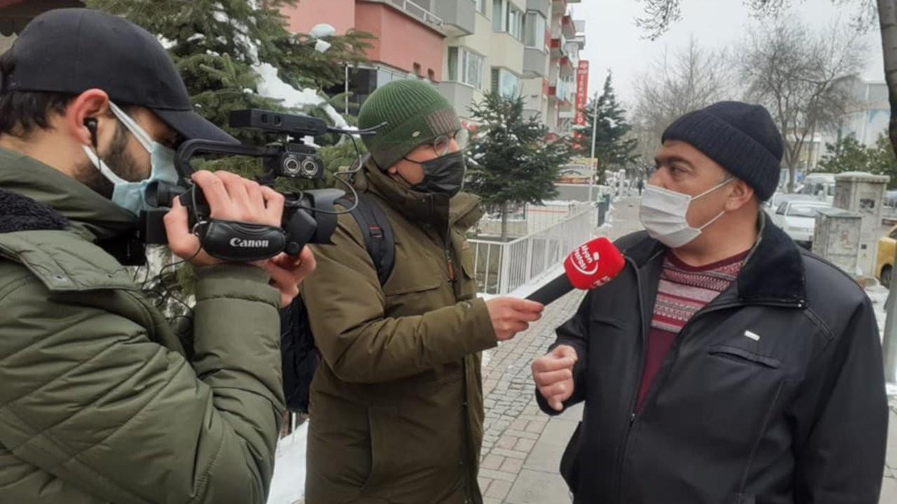 AK Partili başkan halk röportajlarına kızdı