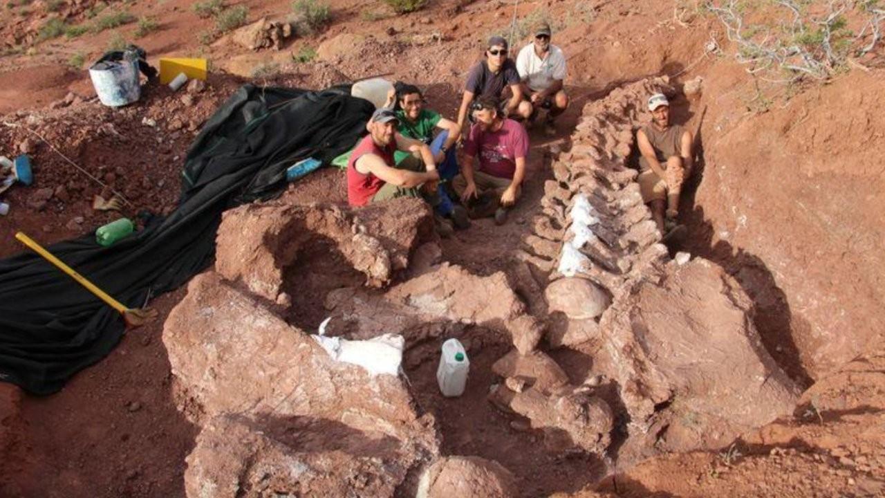 Arjantin'de 140 milyon yıllık titanozor fosili bulundu: Türünün bilinen en eski örneği