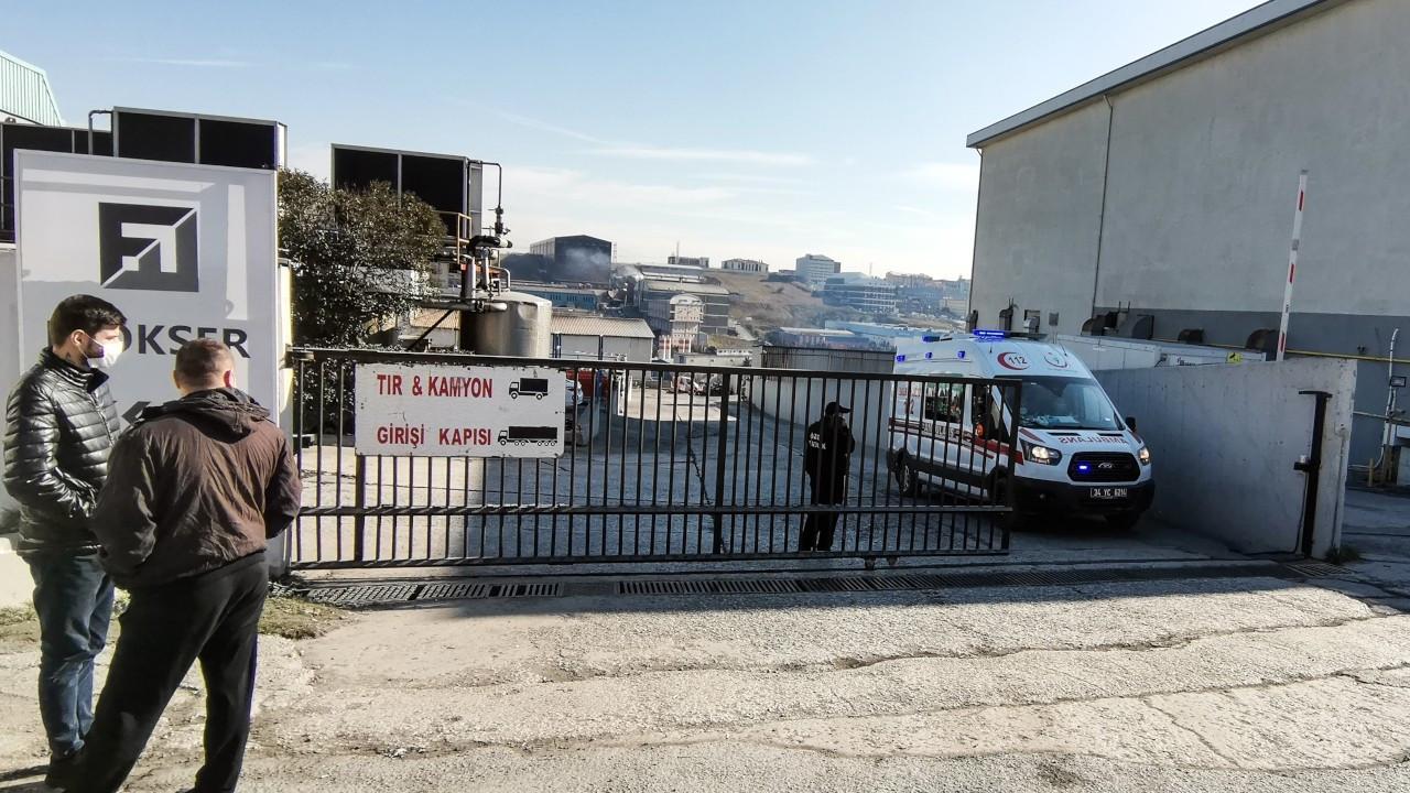 Arnavutköy'deki fabrika yangınında yaralanan işçi öldü