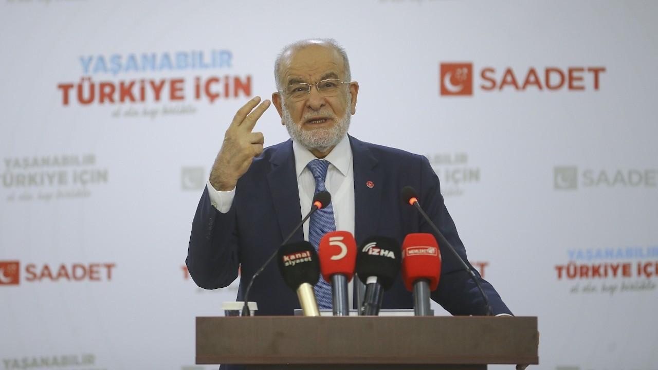Karamollaoğlu: Erdoğan 'bir selamün aleyküm diyelim' demiştir