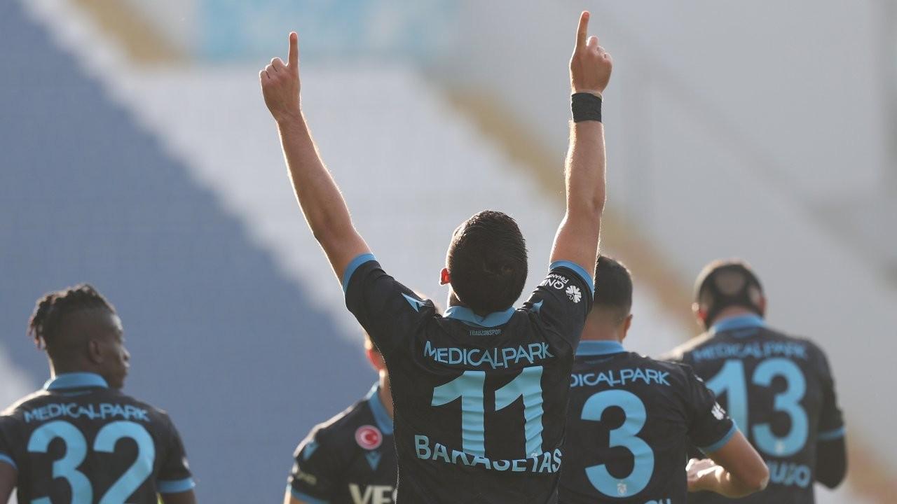 Trabzonspor, İstanbul'da güldü: 1-2