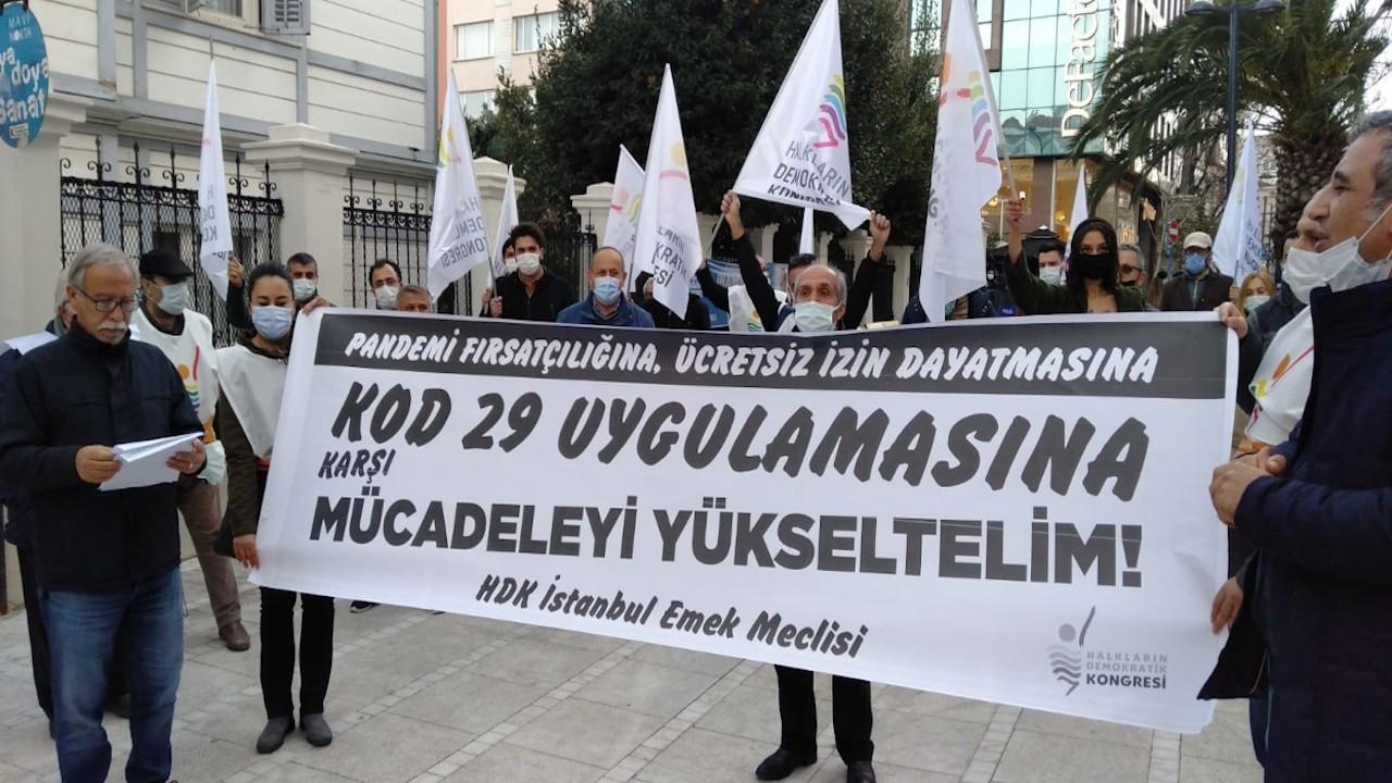 Kod 29 protestosu: Patronlar için dikensiz gül bahçesi yaratılıyor