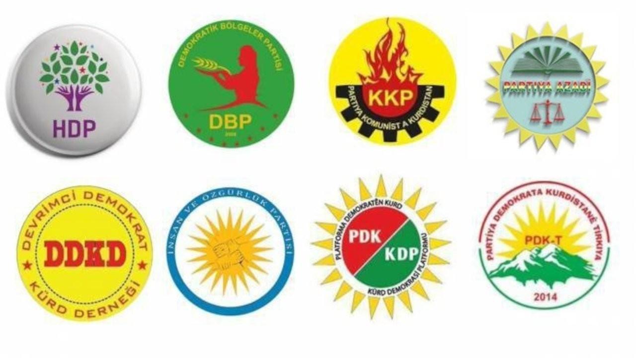 Kürdistani İttifak'tan HDP'ye yönelik kapatma açıklamalarına tepki