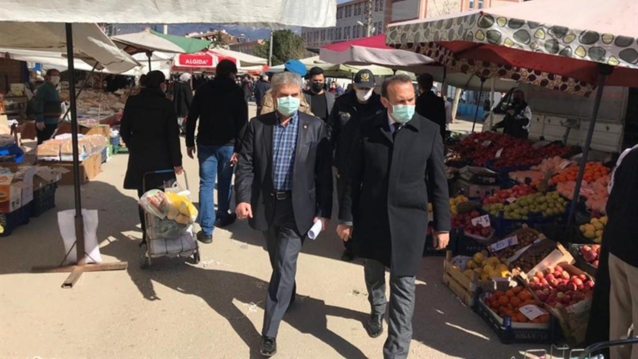 Erbaa'da semt pazarları 14 gün süreyle kapatıldı
