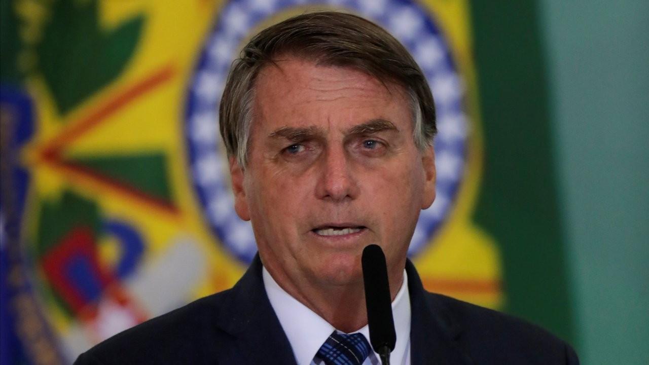 Brezilya Devlet Başkanı Bolsonaro: Salgın hakkında sızlanmayı bırakın