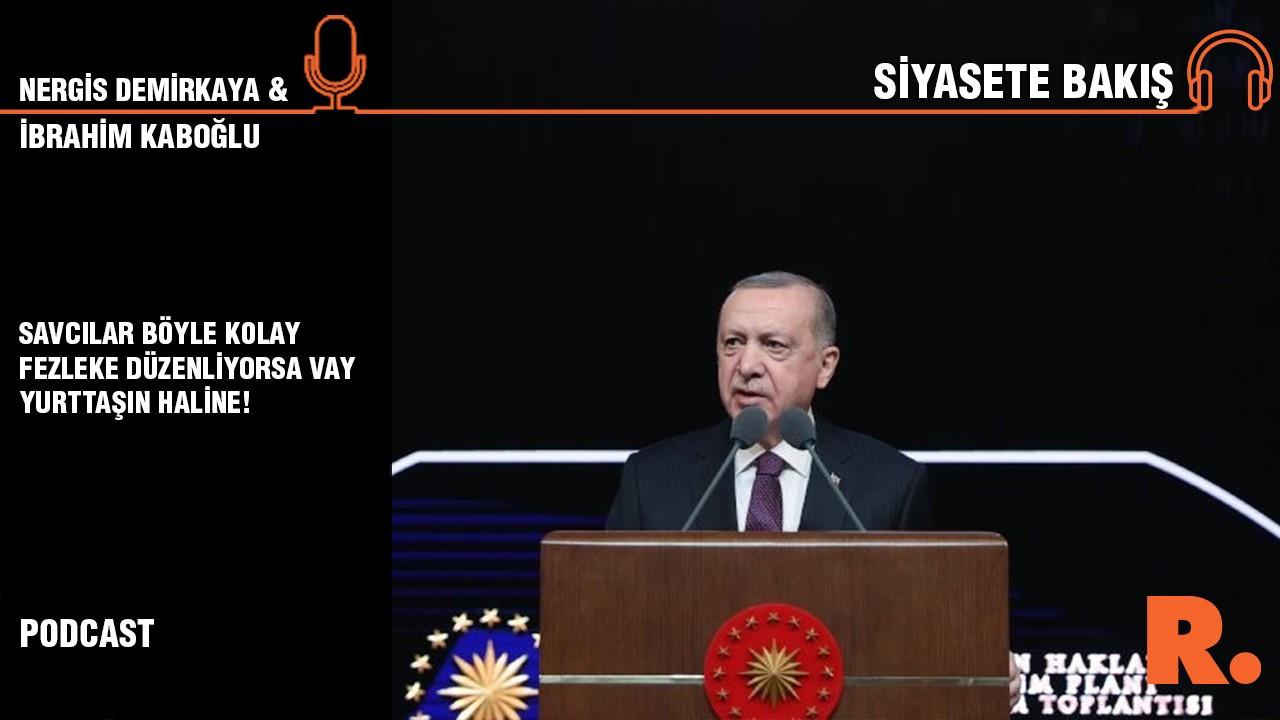 Siyasete Bakış... İbrahim Kaboğlu: Savcılar bu kadar kolay fezleke düzenliyorsa vay yurttaşların haline!