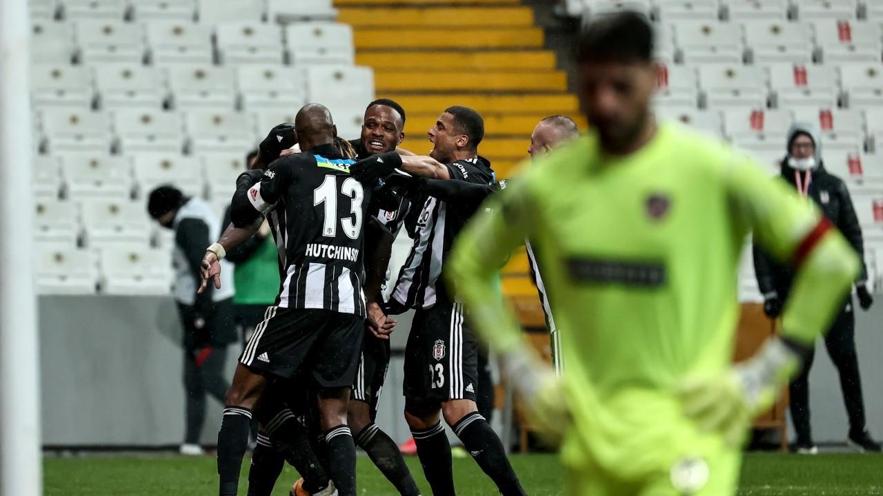 Beşiktaş zirve yarışını sürdürdü