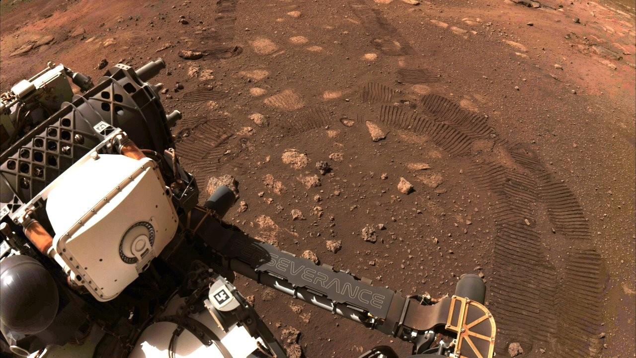 Perseverance, Mars'ta ilk test sürüşünü yaptı: Bu sadece başlangıç