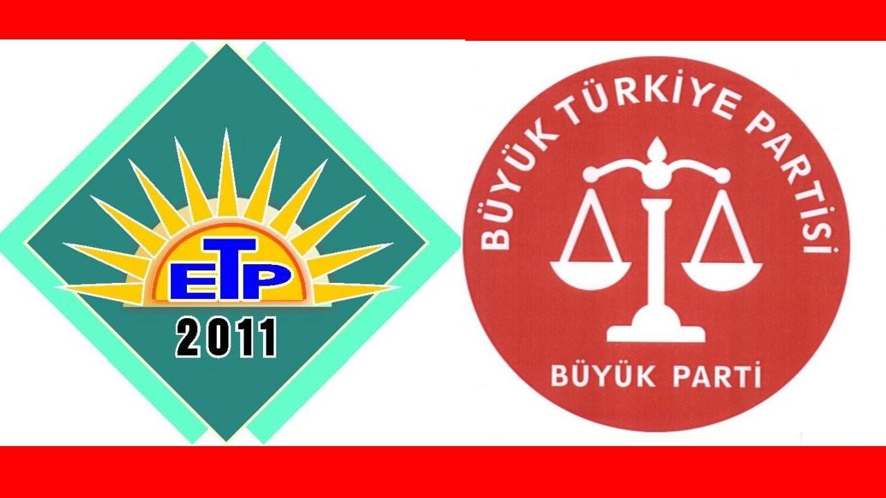 İki siyasi parti 'dağılarak' kapandı