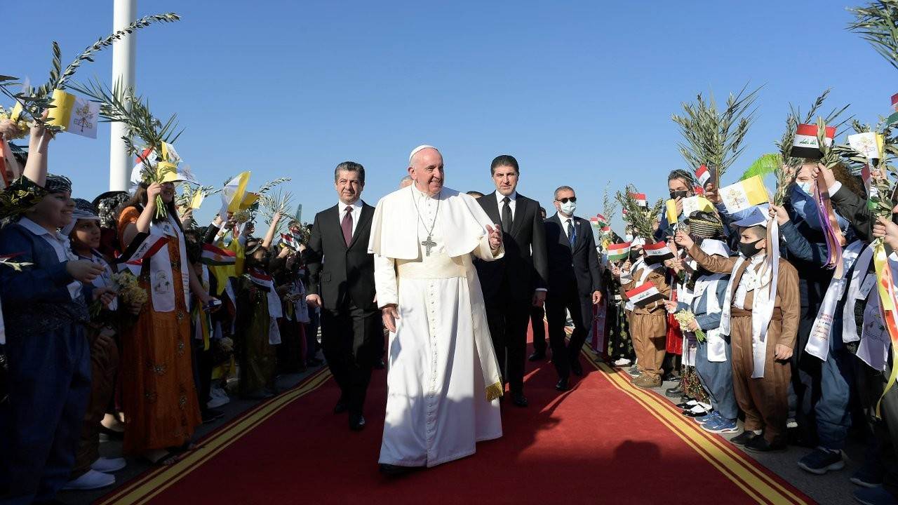 Papa Francis'ten Neçirvan Barzani'ye teşekkür