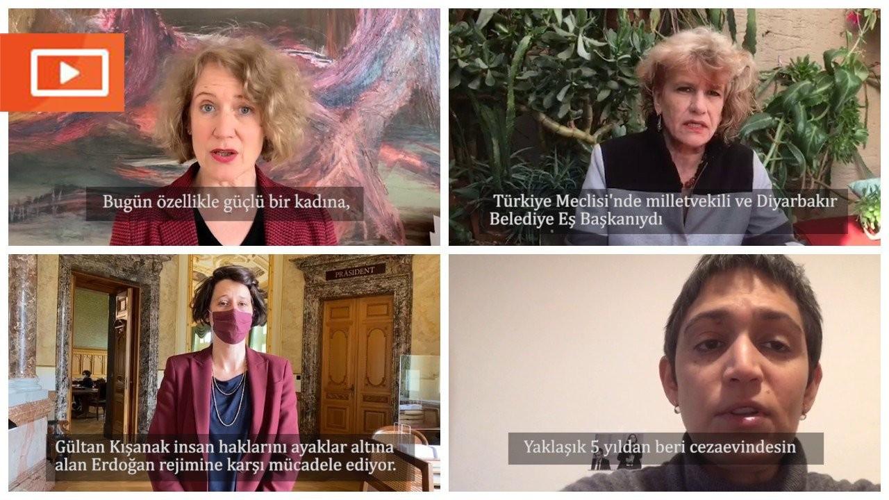Zürihli kadın politikacılardan Gültan Kışanak'la 8 Mart dayanışması