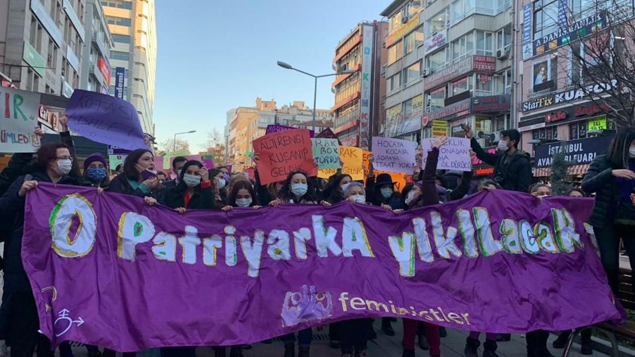 Ankara'da kadınlar yürüdü: Susmuyoruz, korkmuyoruz, itaat etmiyoruz