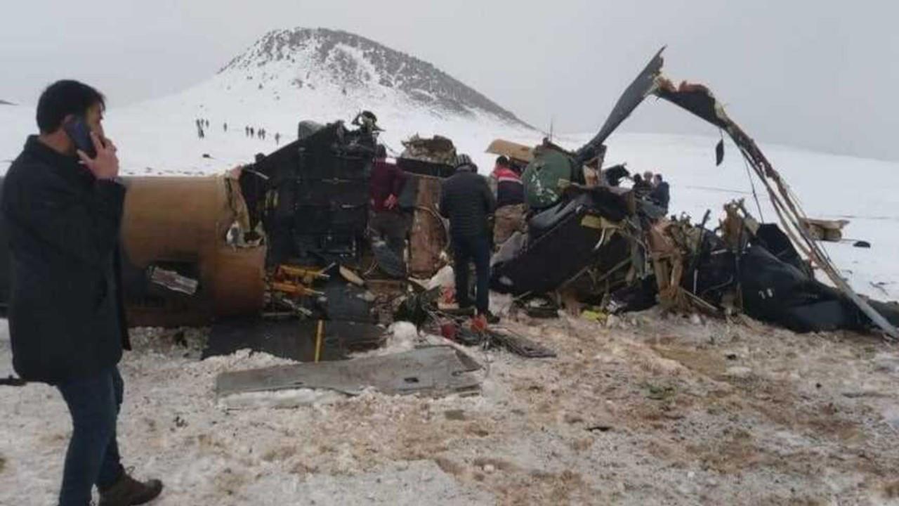 MSB'den kaza açıklaması: Sorun helikopterde değil