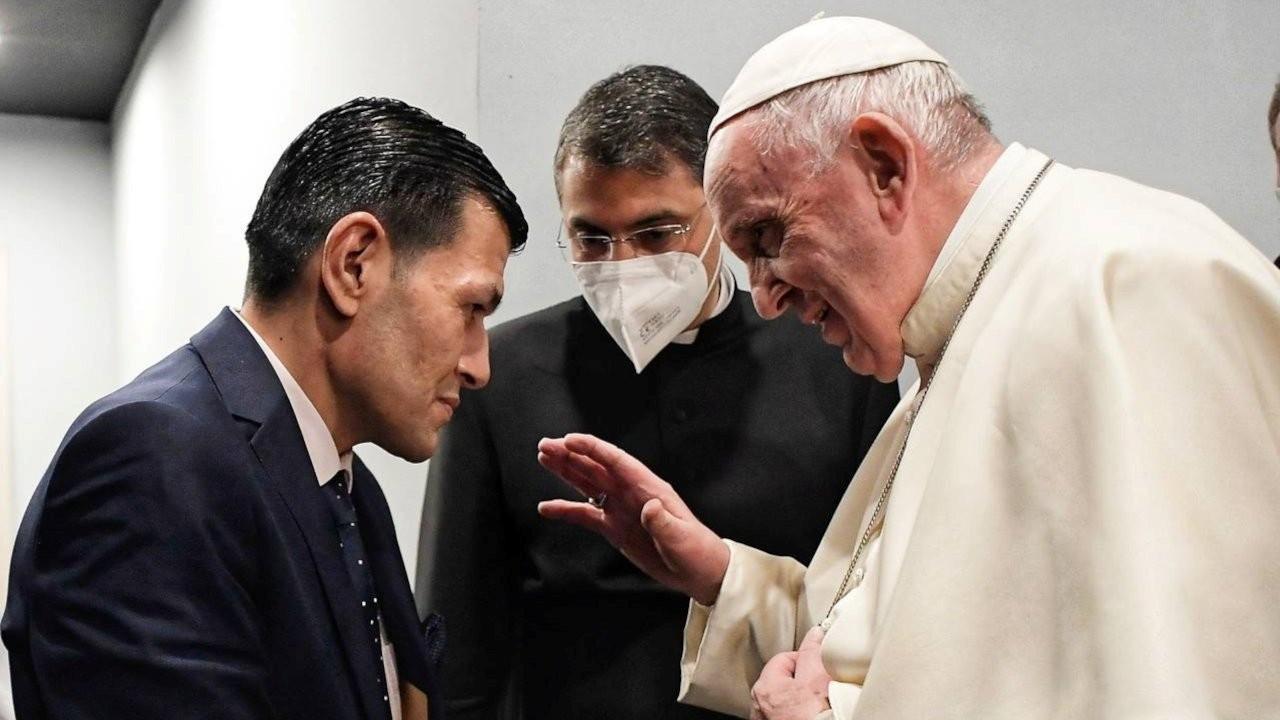 Papa Francis, Alan Kurdi'nin babasıyla görüştü