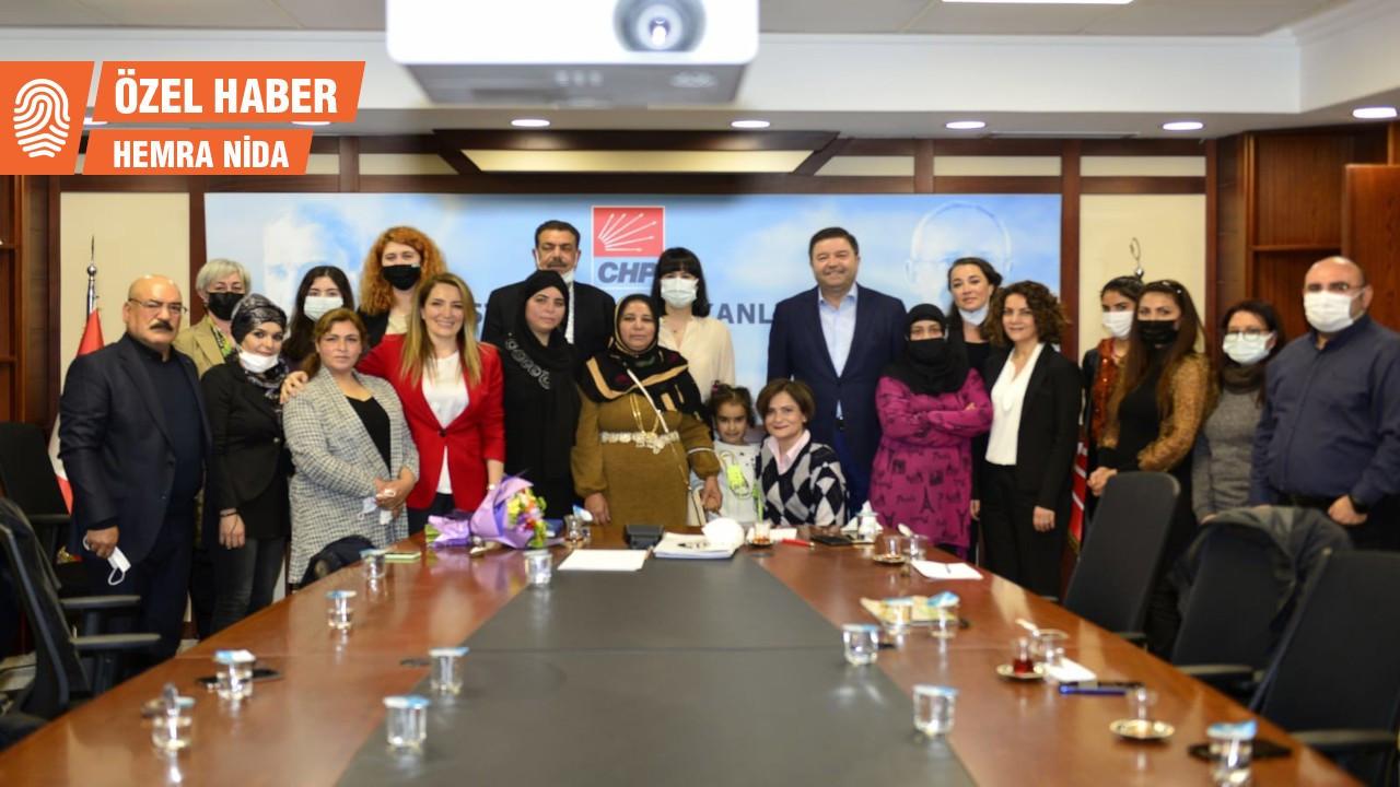 Roman kadınlardan Kaftancıoğlu'na 8 Mart ziyareti