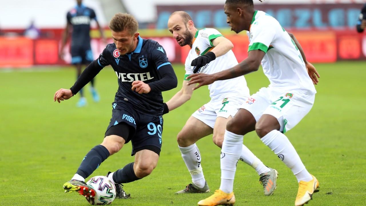 Trabzonspor'dan sahasında üst üste ikinci mağlubiyet: 3-1