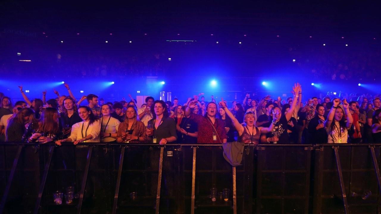 Amsterdam'ın en büyük konser salonunda 1300 kişilik Covid deneyi