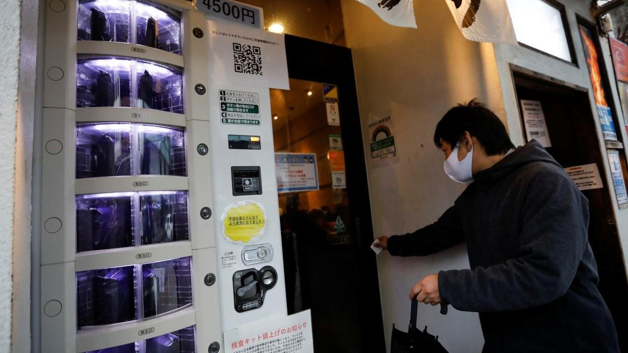Japonya'da Covid testleri otomattan alınabilecek