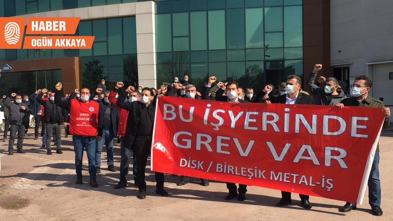 Cem Bialetti işçileri grevde: Ekonomik krizi biz yaratmadık
