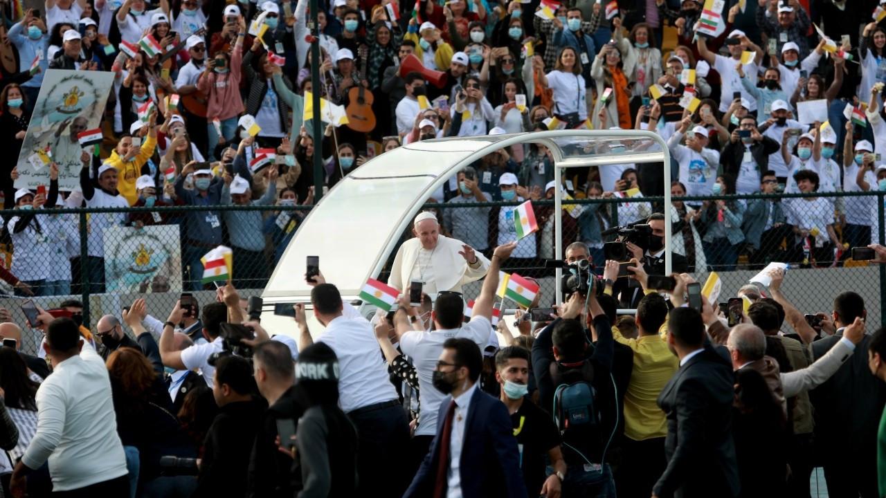 Papa: Kürt halkına sıcak karşılama için teşekkür ediyorum