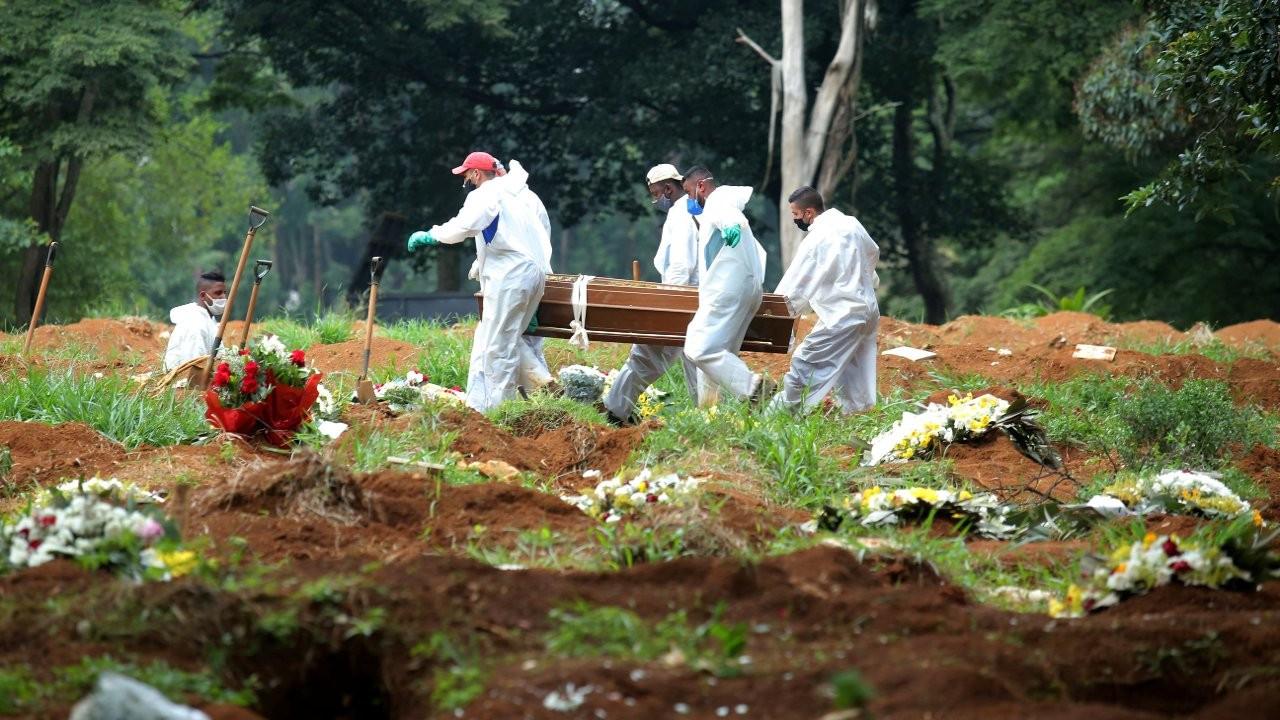 Brezilya alarm veriyor: Bir günde 2 bin 286 kişi Covid'den öldü