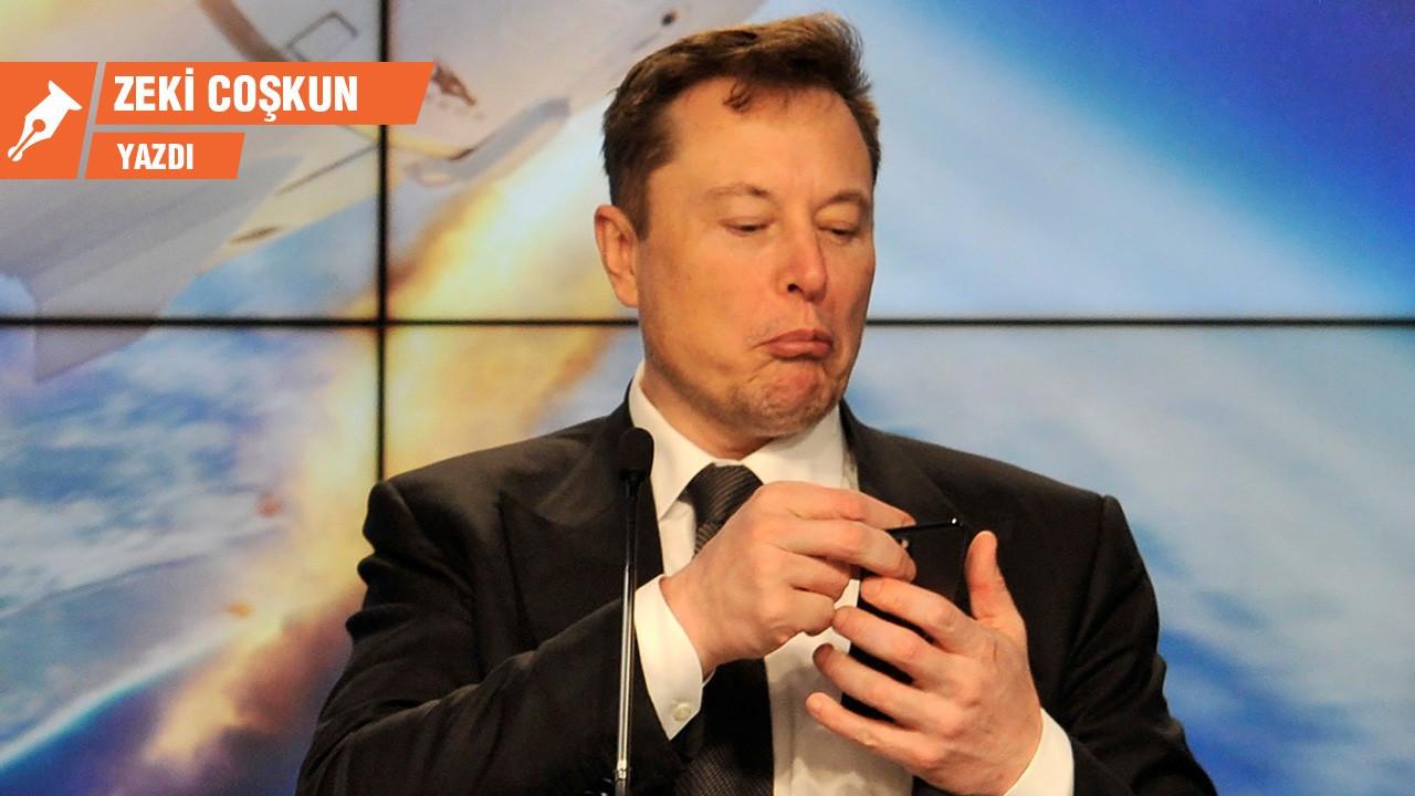 Musk yine göğü deliyor