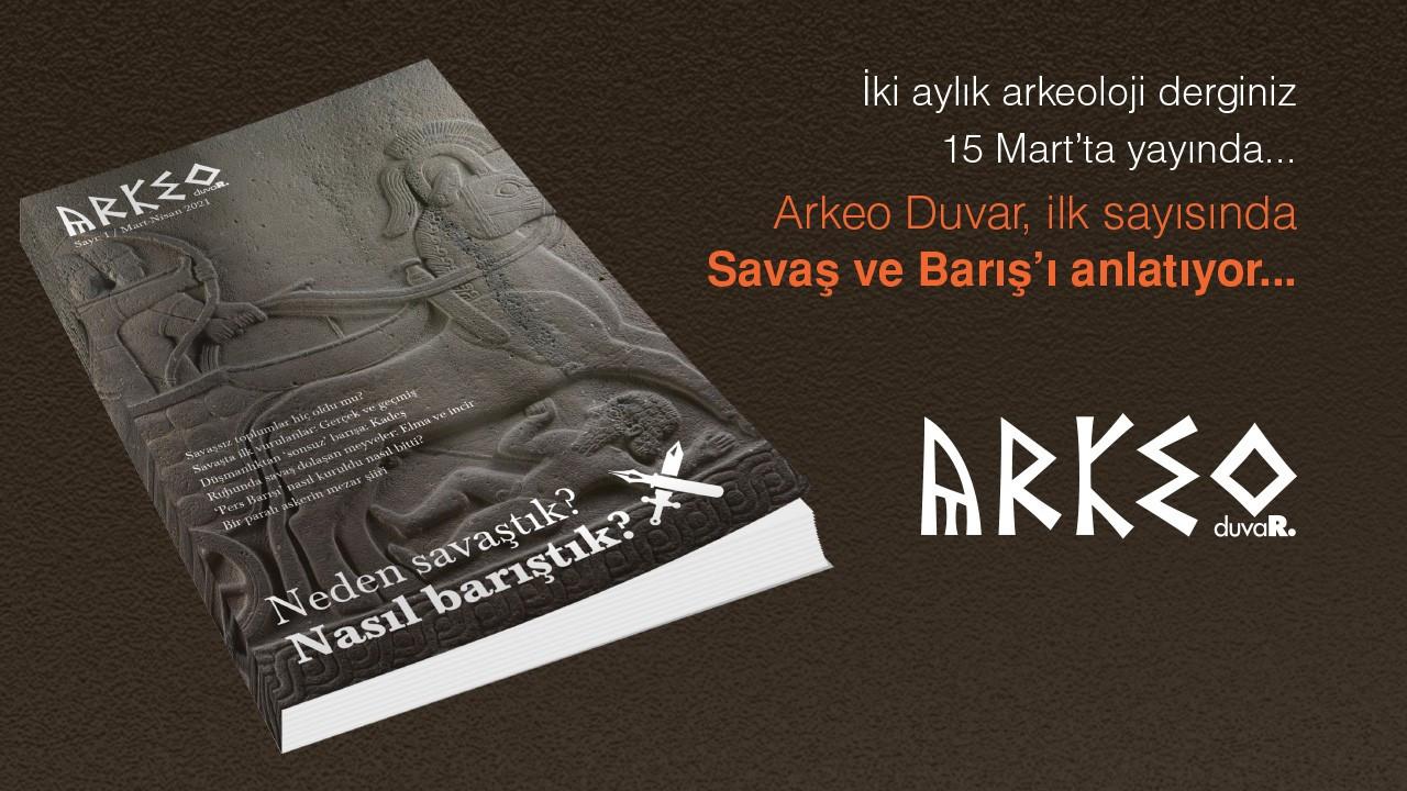 Arkeo Duvar 15 Mart'ta yayında