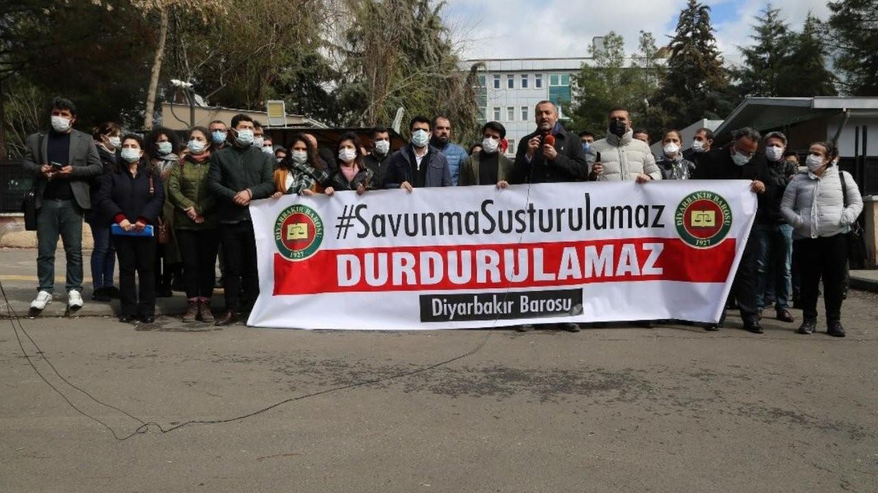 Diyarbakır Barosu: Avukatlara yönelik keyfi soruşturmalar yapılıyor