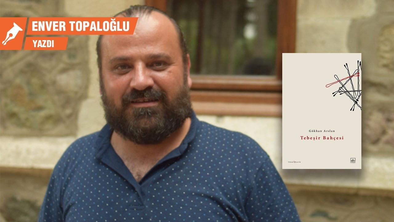 Gökhan Arslan'dan yeni kitap: Tebeşir Bahçesi