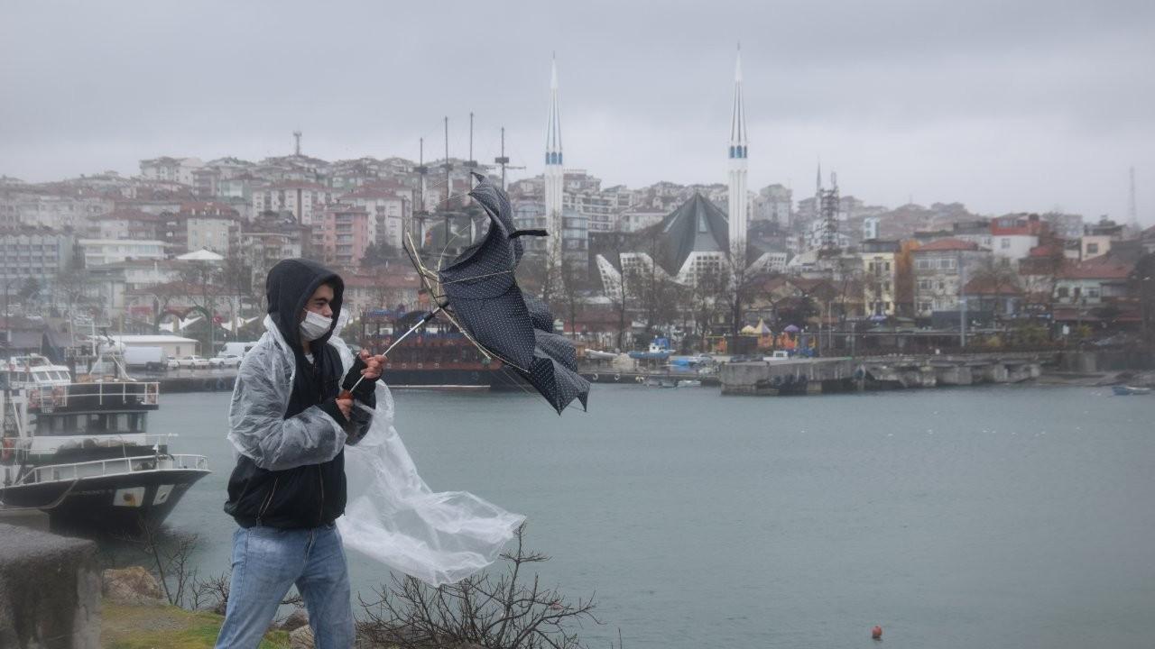 Meteoroloji uyardı: Kuvvetli rüzgar ve fırtına bekleniyor
