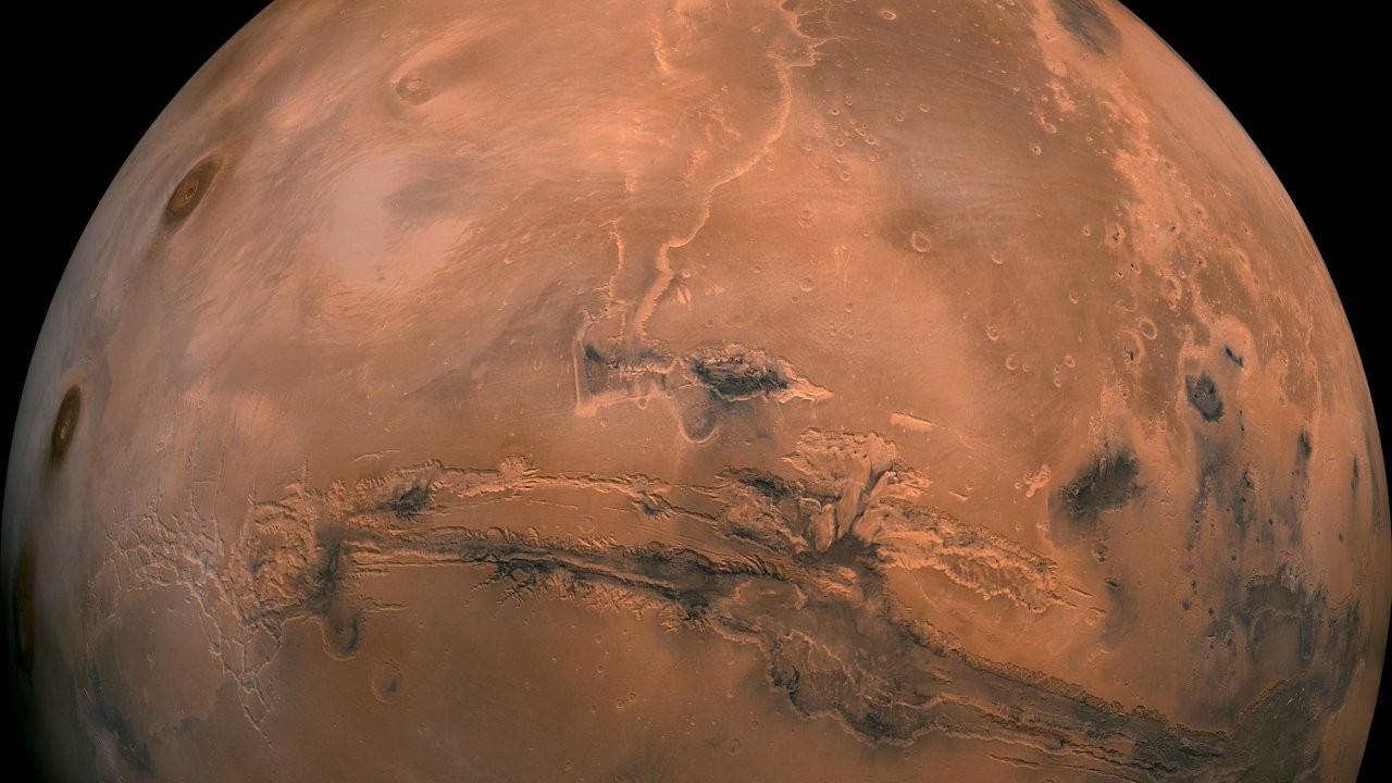 Mars'taki 'gizemli bulutun' sırrı çözüldü