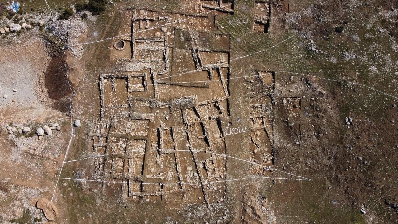 Tünel çalışmasında ortaya çıkan 2 bin yıllık tarih