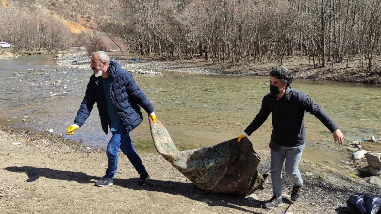 Dersim'de çevre temizliği: Esas olan kirletmemek