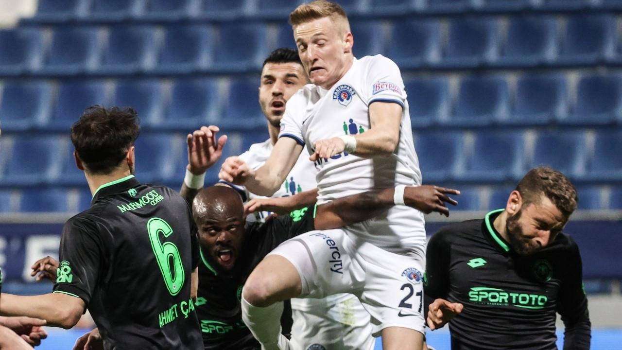 Kasımpaşa ile Konyaspor yenişemedi: 1-1