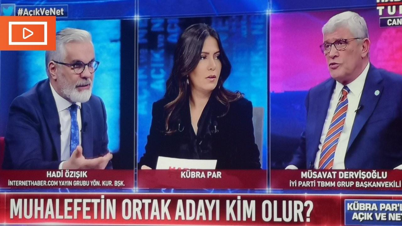 Canlı yayında 'iktidar yanlısı gazeteci' krizi