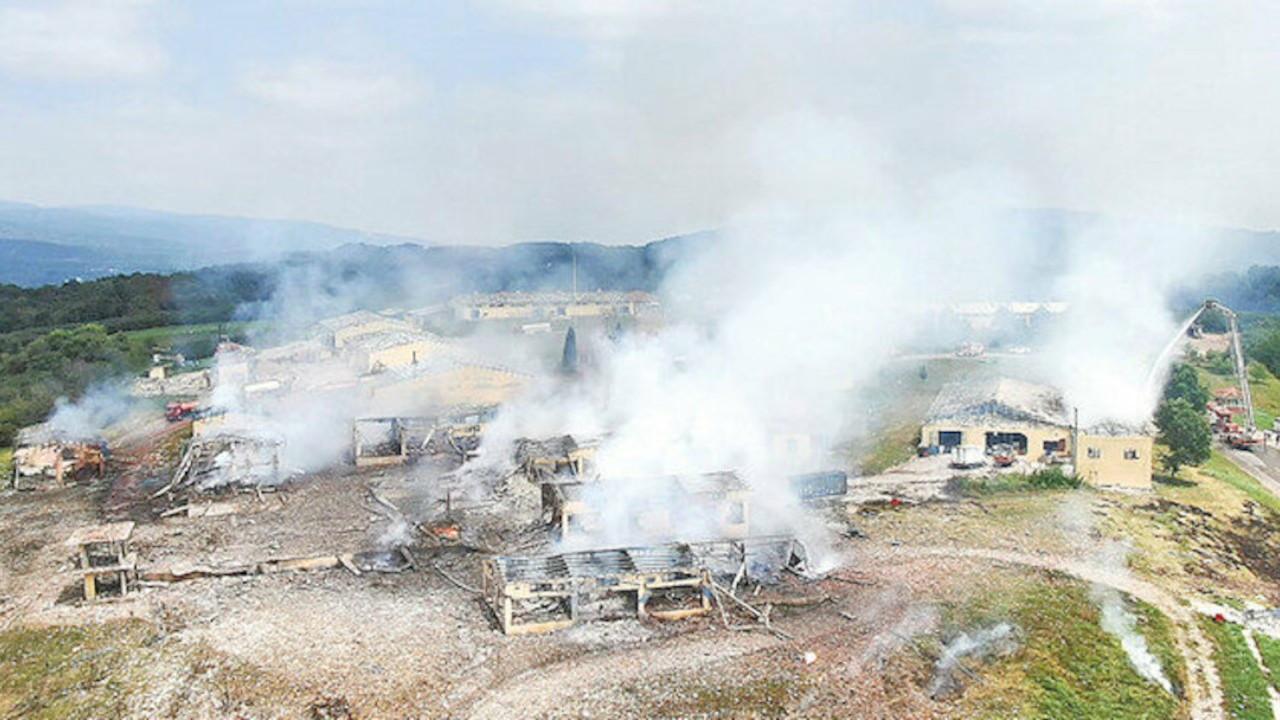 Havai fişek fabrikası patlamasında bir kişi serbest