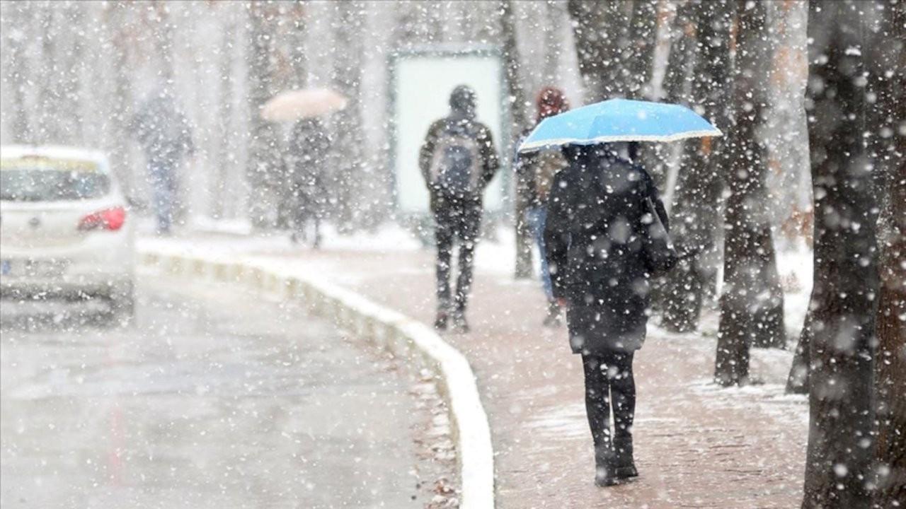 İllere göre yağış uyarısı: Kar da var yağmur da