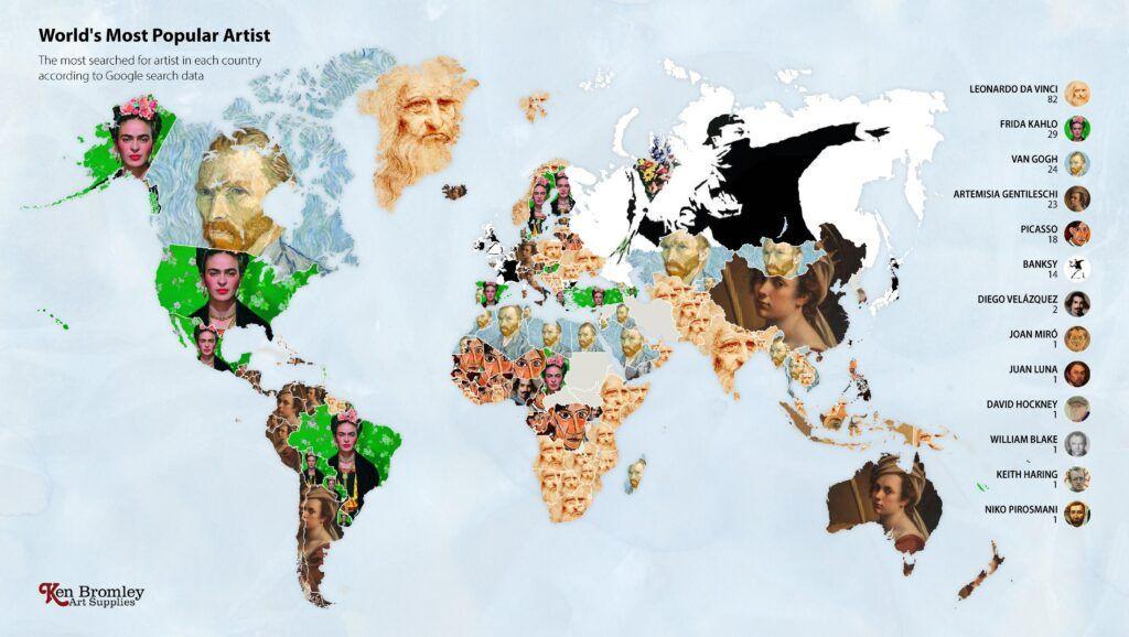 Google'da en çok aranan sanatçılarda Leonardo da Vinci ilk sırada - Sayfa 1