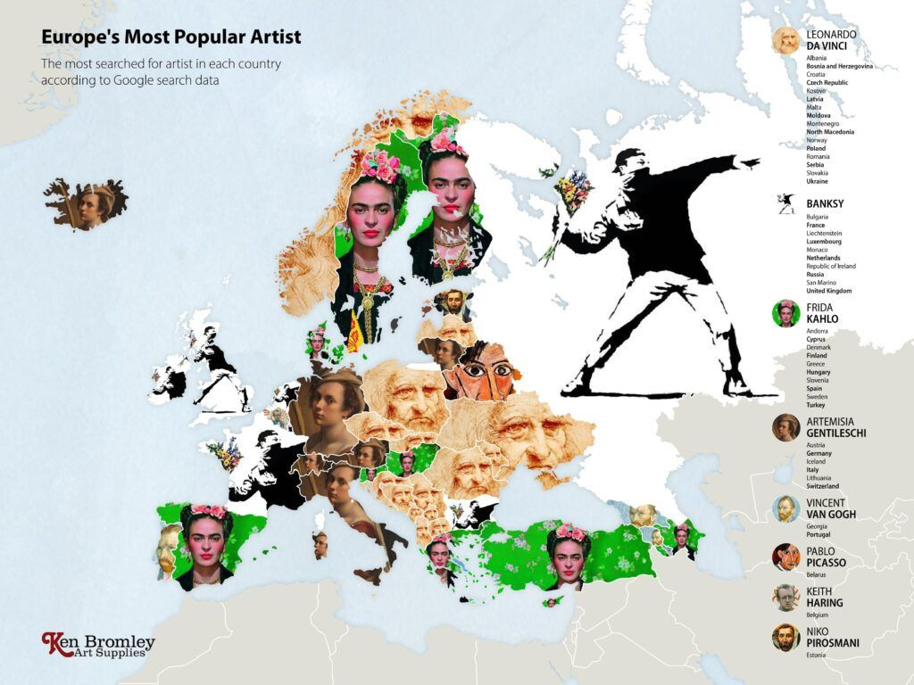 Google'da en çok aranan sanatçılarda Leonardo da Vinci ilk sırada - Sayfa 3