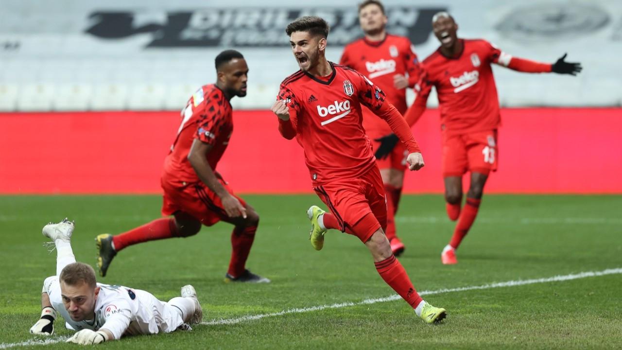 Türkiye Kupası'nda ilk finalist Beşiktaş