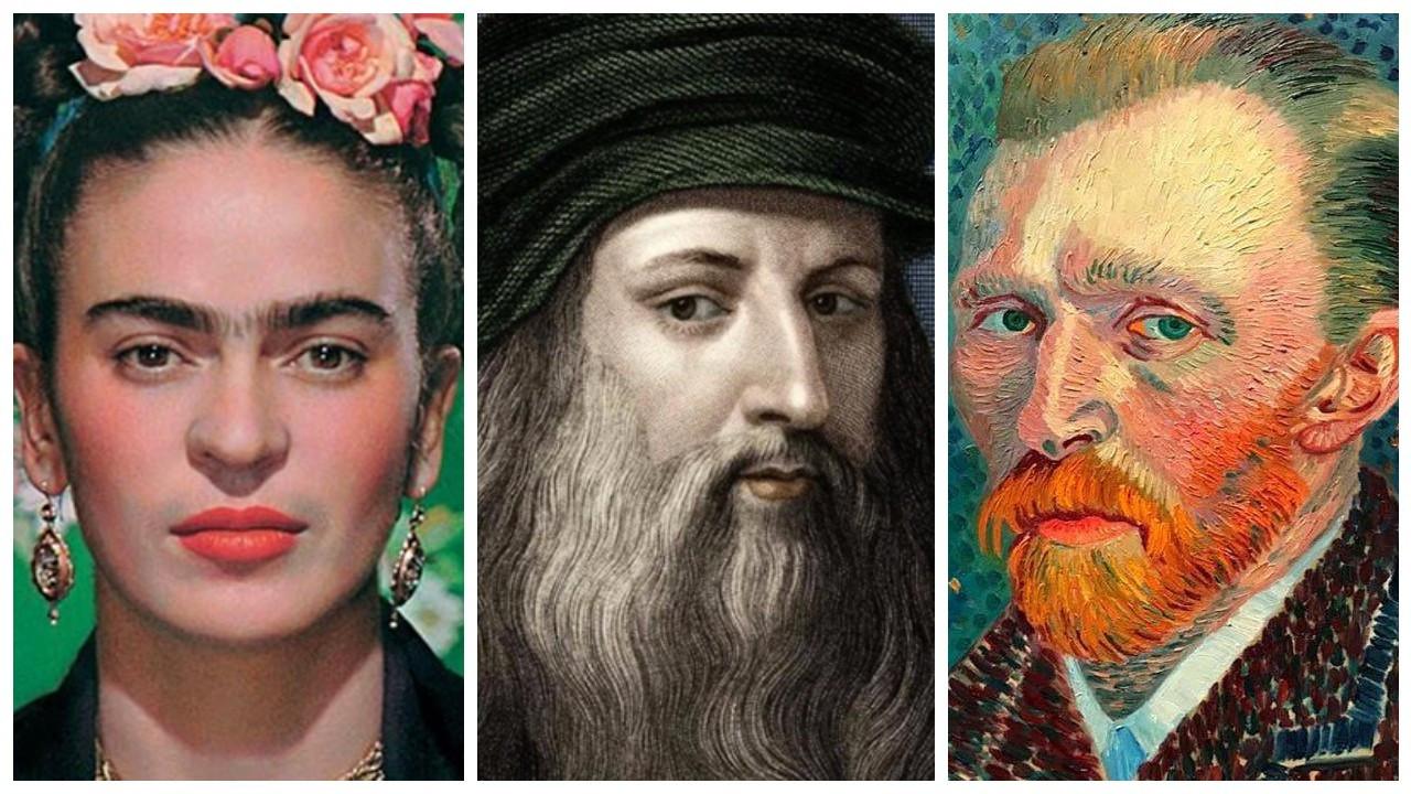 Google'da en çok aranan sanatçılarda Leonardo da Vinci ilk sırada
