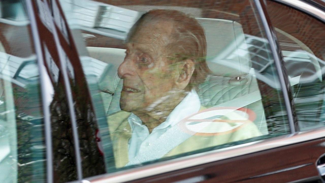 Bir aydır hastanede tedavi gören Prens Philip taburcu edildi