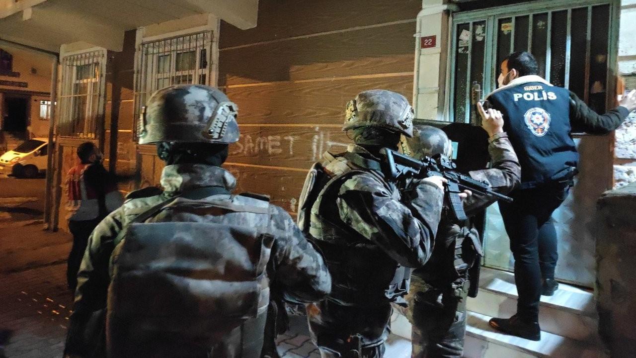 İstanbul'da 20 adrese bahis baskını
