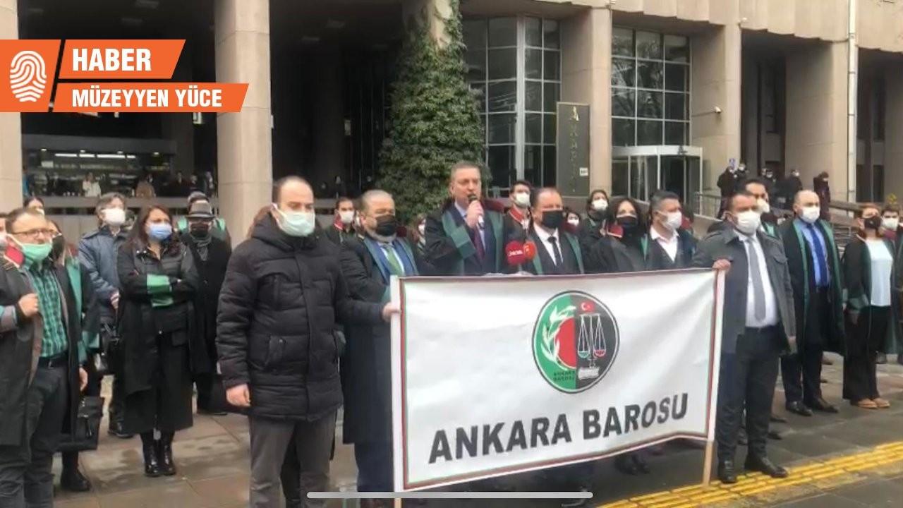 Avukatlar saldırılara karşı boykotta: Duruşmalara girmeyecekler